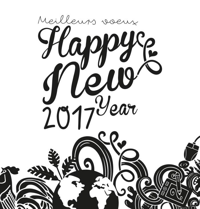 Bonne année 2017 avec webcréatrice