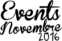 Evenements novembre 2016 WebCréatrice