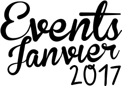 Events janvier 2017