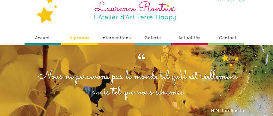 Page profil de Laurence Ronteix
