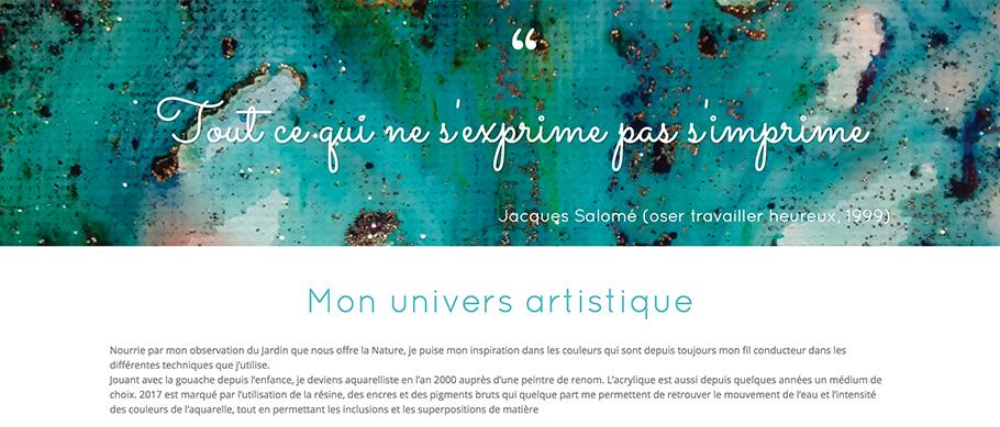 Univers Artistique de Laurence Ronteix
