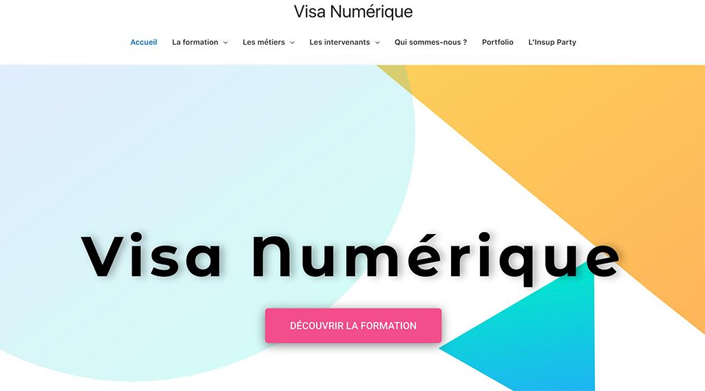 Site de Visa Numérique