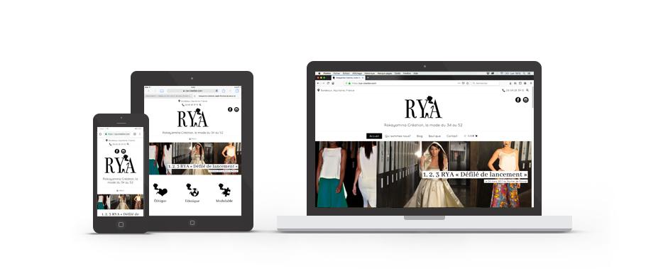 Site web de Rokayamina Création