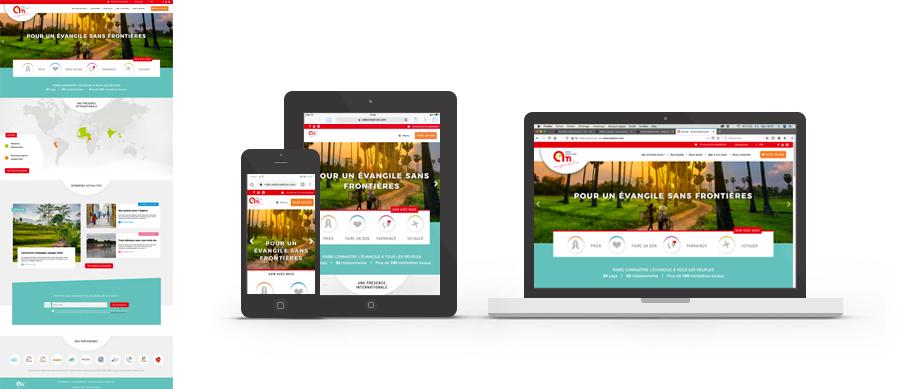 Webdesign site web Action Missionnaire