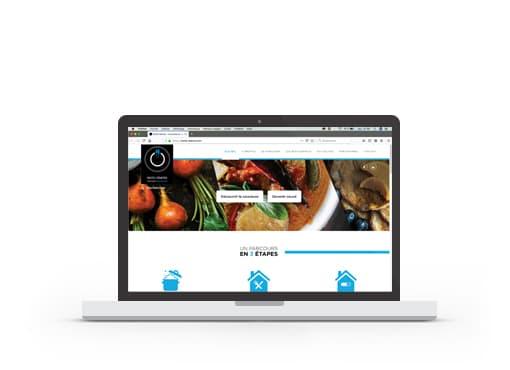 Création du site web de Resto'Starter