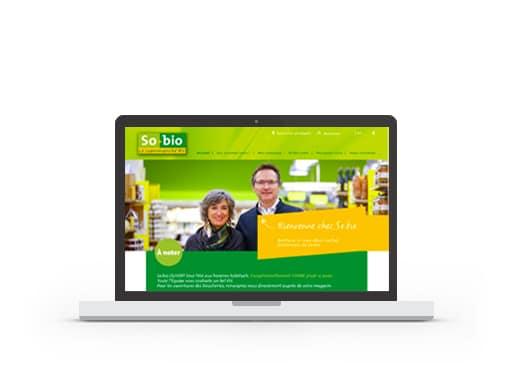 Site web So.bio