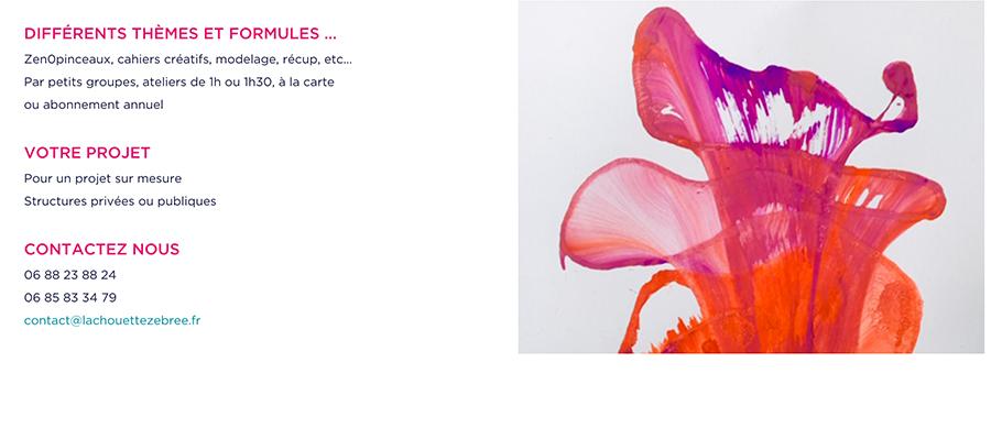 Site web de la Chouette Zebree page institutions