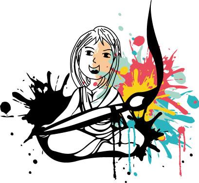 Laurie, Web Créatrice, atelier créatif