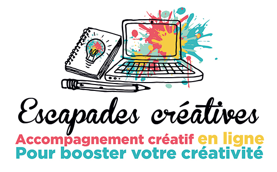 Escapades créatives : Accompagnement créatif en ligne pour booster votre créativité