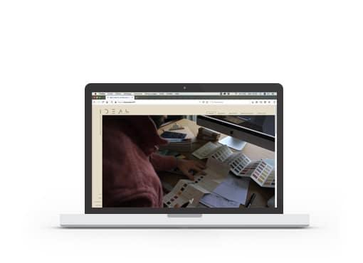 Site web Idéal Collectif