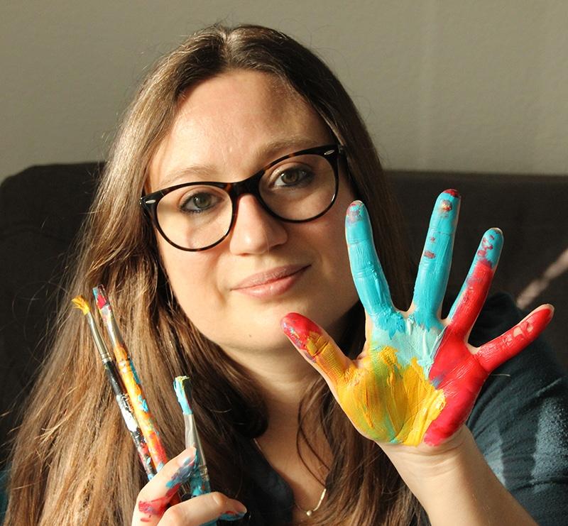 Laurie Amiot, de Web Créatrice, communication et créativité