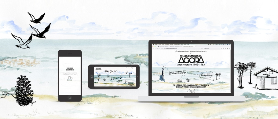 Webesign du web documentaire Agora